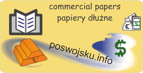 Commercial papers papiery dłużne bony komercyjne bony handlowe KWIT WOI