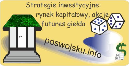Strategie inwestycyjne akcje futures rynek giełdowy giełda