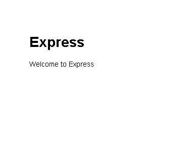 Welcome to Express poradnik tutorial