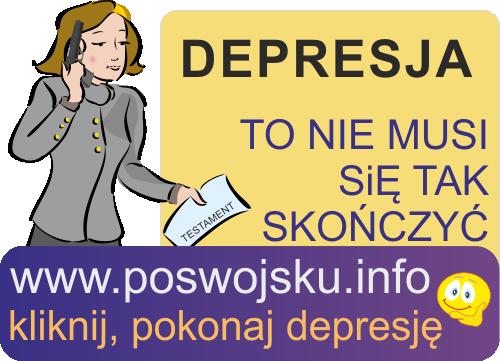 Depresja załamanie stany depresyjne kobieta mężczyzna