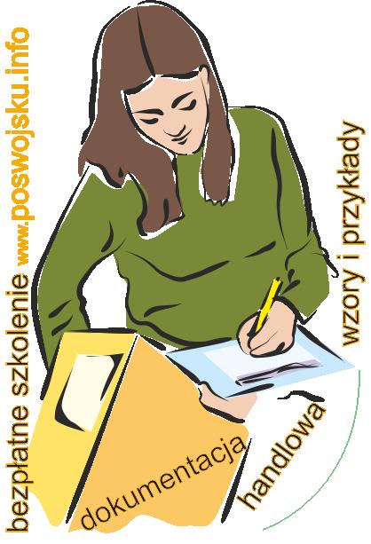 Dokumenty sprzedawcy handlowca dokumentacja handlowa wzory i przykłady
